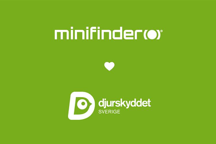 MiniFinder tukee Ruotsin eläinsuojelua!